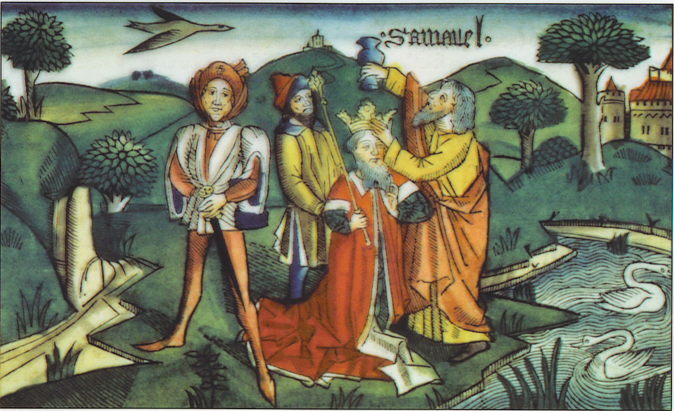 1 Samuel 10, Samuel anoints Saul, Nuremberg Bible